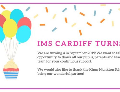 IMS Cardiff turns 4!